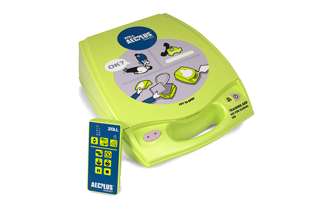 Zoll® AED Plus® Trainer 2 Defibrillator Training Device Zoll® AED Plus® Trainer 2 Defibrillator Training Device Simulates realistic life-saving training for the Zoll semi-automatic