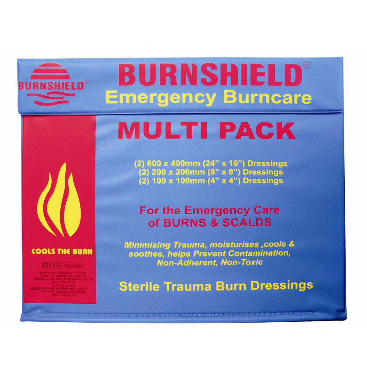 Burnshield® Emergency Burncare Dressings Multi-Pack