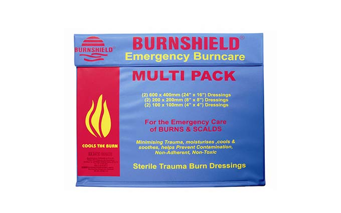 Burnshield® Emergency Burncare Burn Dressing Multi-Pack