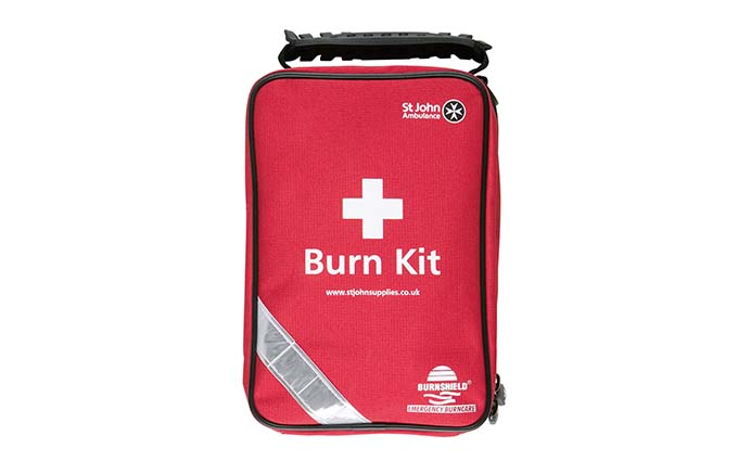 Burnshield® and St John Ambulance Essential Burn Kit