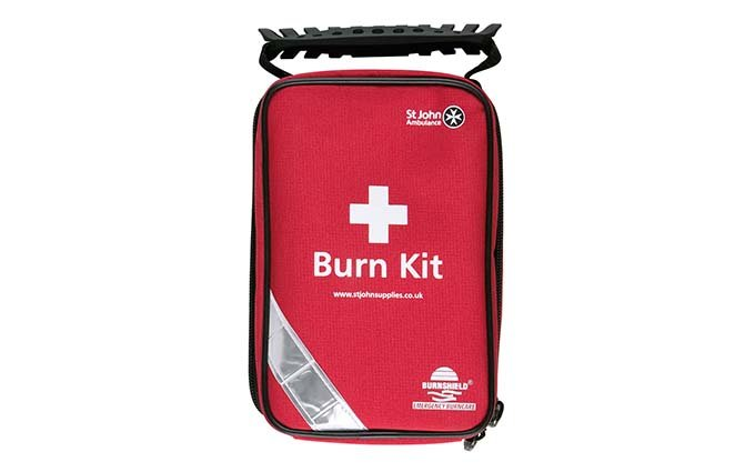 Burnshield® and St John Ambulance Standard Burn Kit