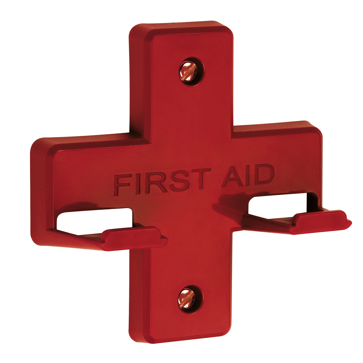 Red Wall Bracket for Alpha First Aid Kits