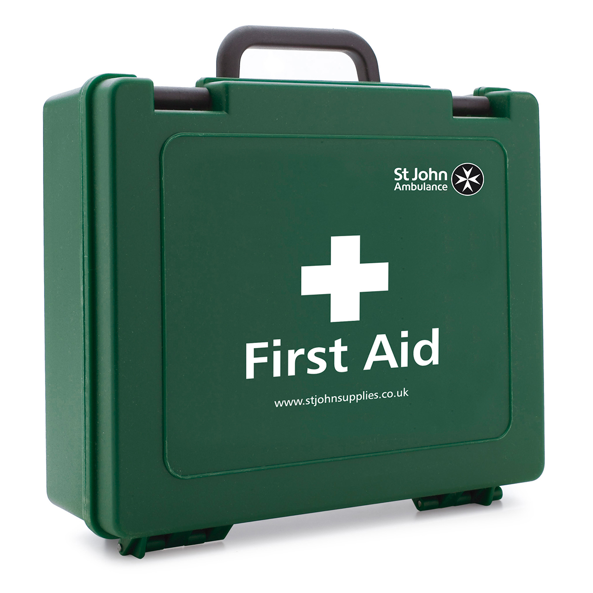 Small Standard St John Ambulance Empty First Aid Box