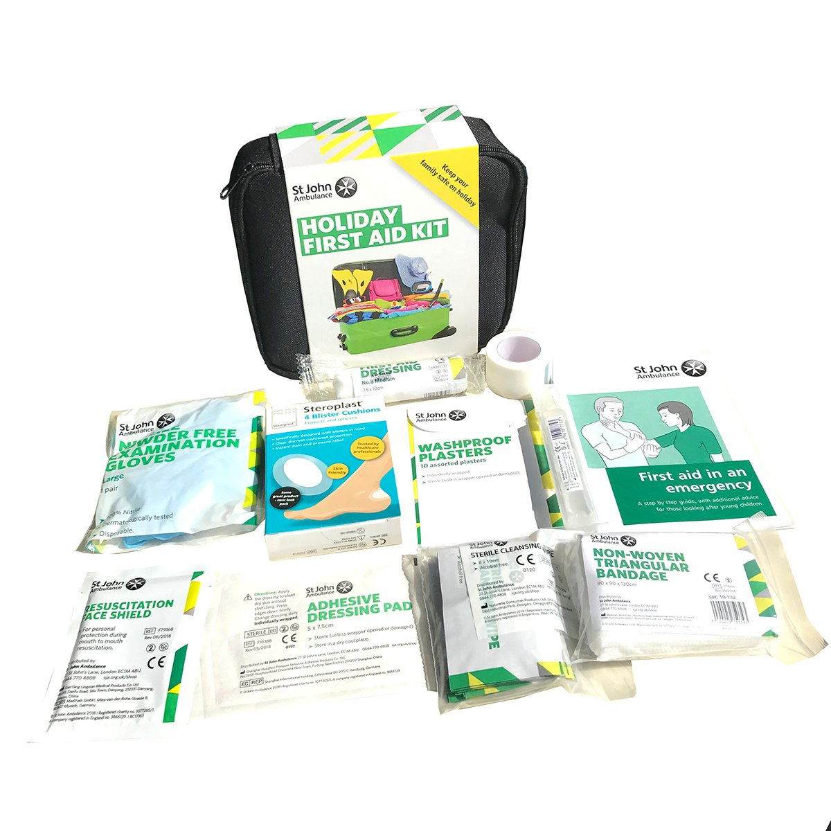 St John Ambulance Holiday First Aid Kit