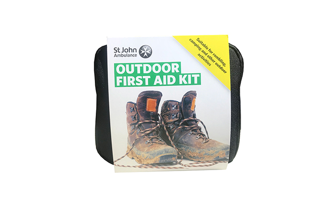 St John Ambulance Outdoor First Aid kit