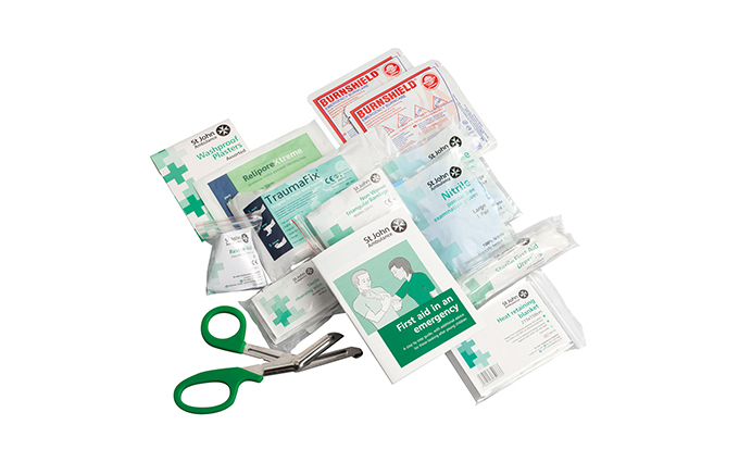 St John Ambulance Medium Motor Vehicle First Aid Kit Refill St John Ambulance Medium Motor Vehicle First Aid Kit Refill
