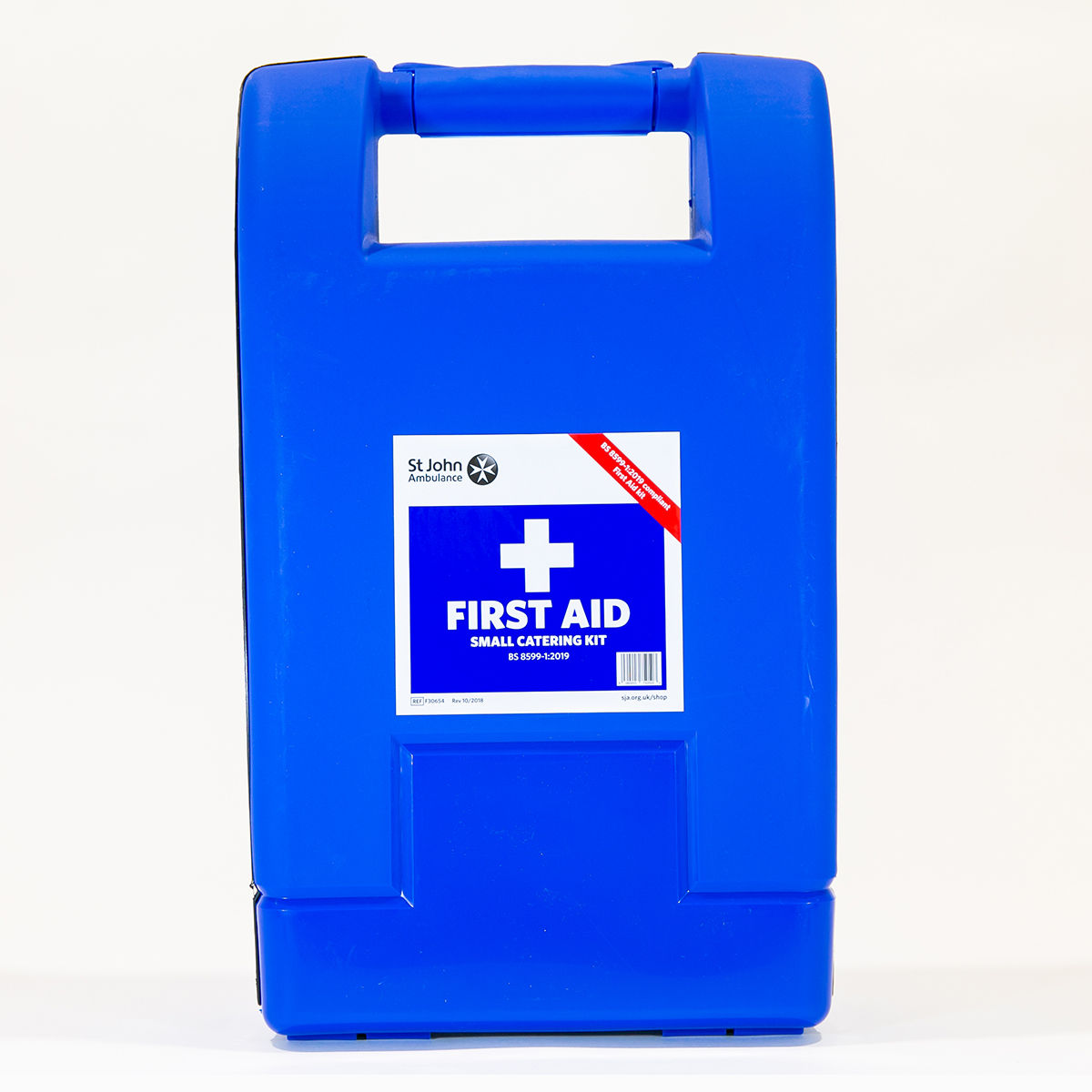 St John Ambulance Small Alpha Catering Workplace First Aid Kit BS 8599-1:2019