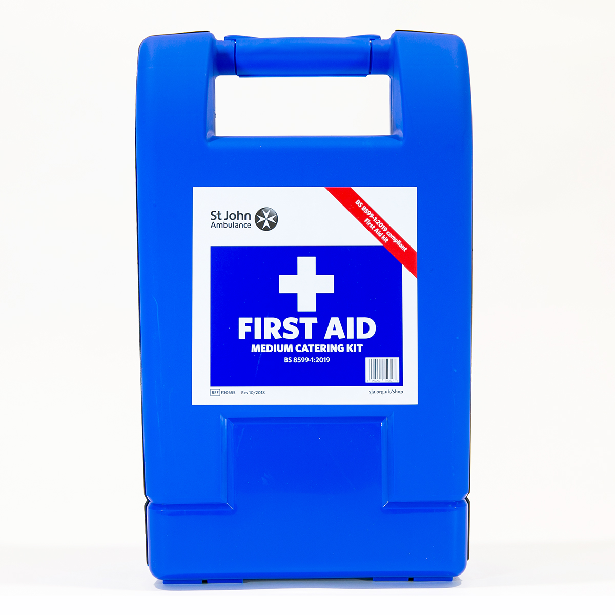 St John Ambulance Medium Alpha Catering Workplace First Aid Kit BS 8599-1:2019