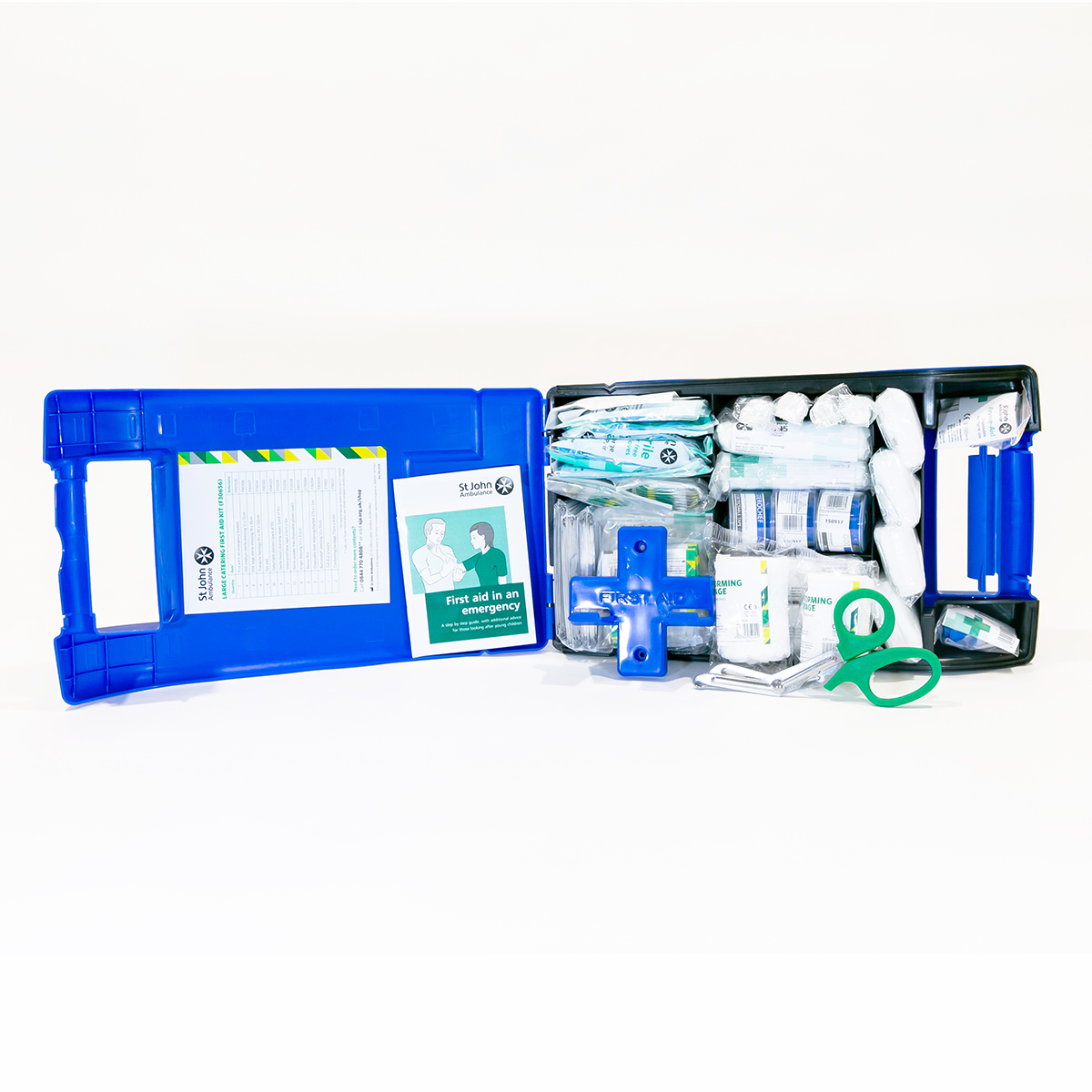 St John Ambulance Large Alpha Catering Workplace First Aid Kit BS 8599-1:2019