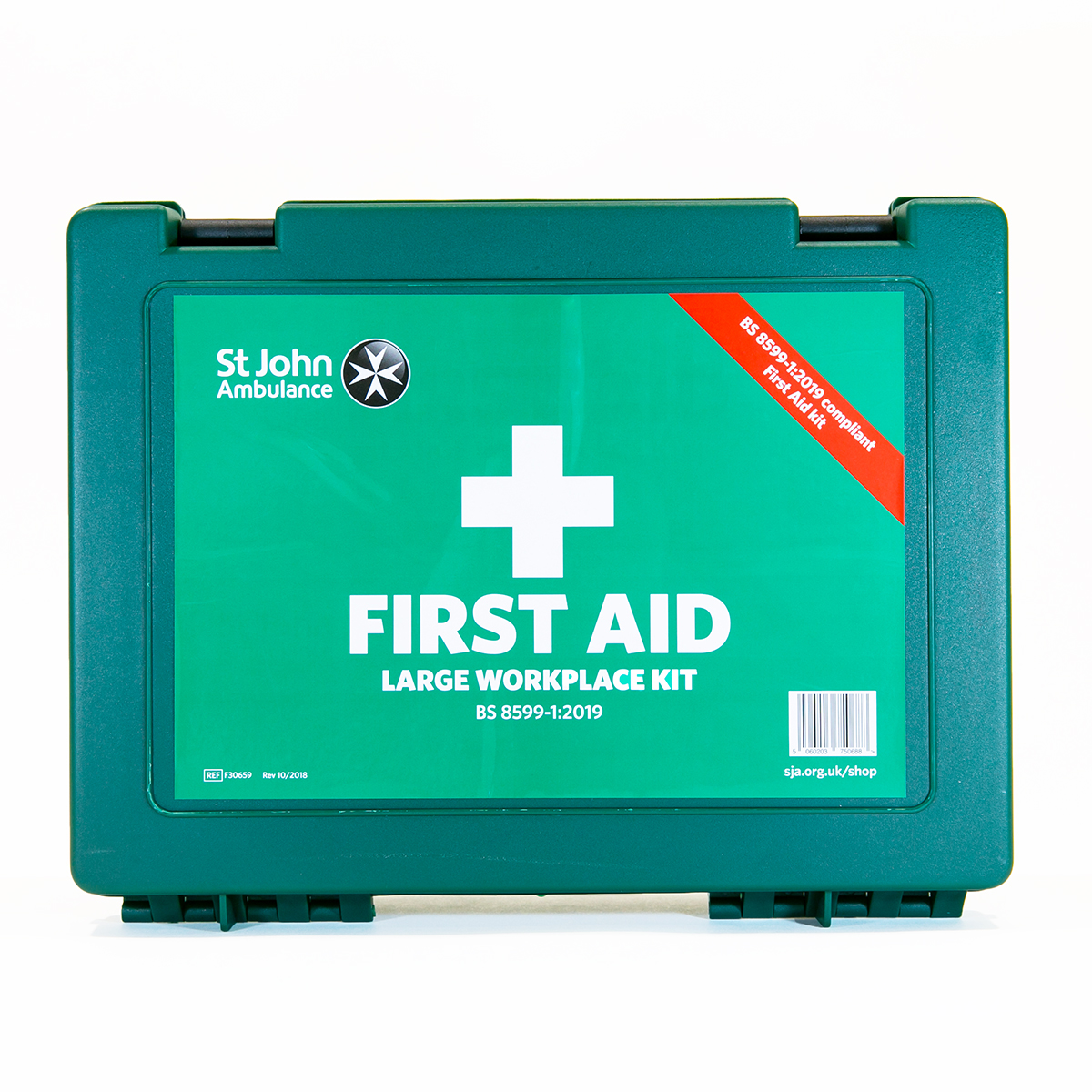 St John Ambulance Large Standard Workplace First Aid Kit BS 8599-1:2019