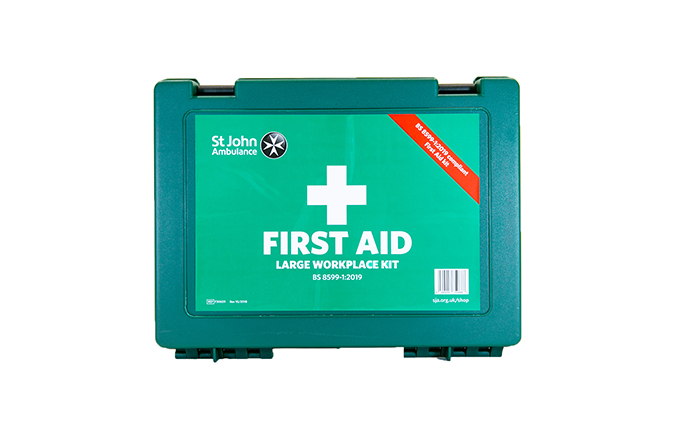 St John Ambulance Large Standard Workplace First Aid Kit BS 8599-1:2019 St John Ambulance Large Standard Workplace First Aid Kit BS 8599-1:2019