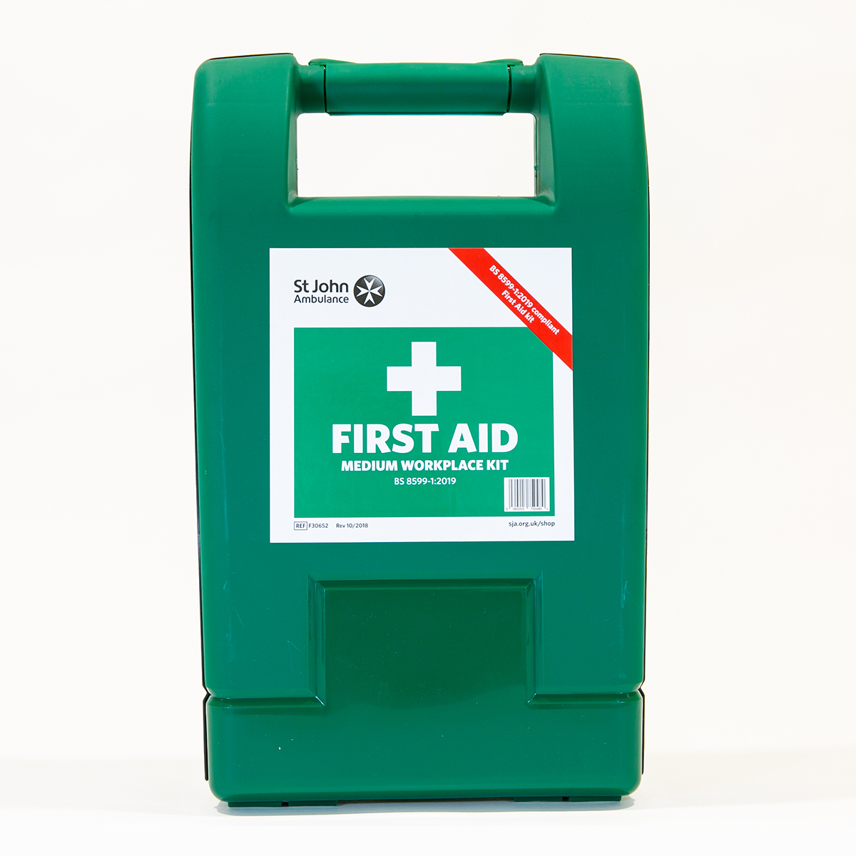 St John Ambulance Medium Alpha Workplace First Aid Kit BS 8599-1:2019