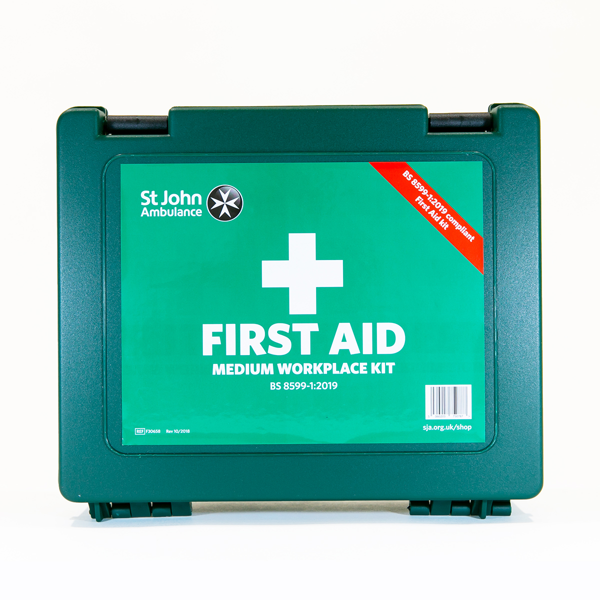 St John Ambulance Medium Standard Workplace First Aid Kit BS 8599-1:2019