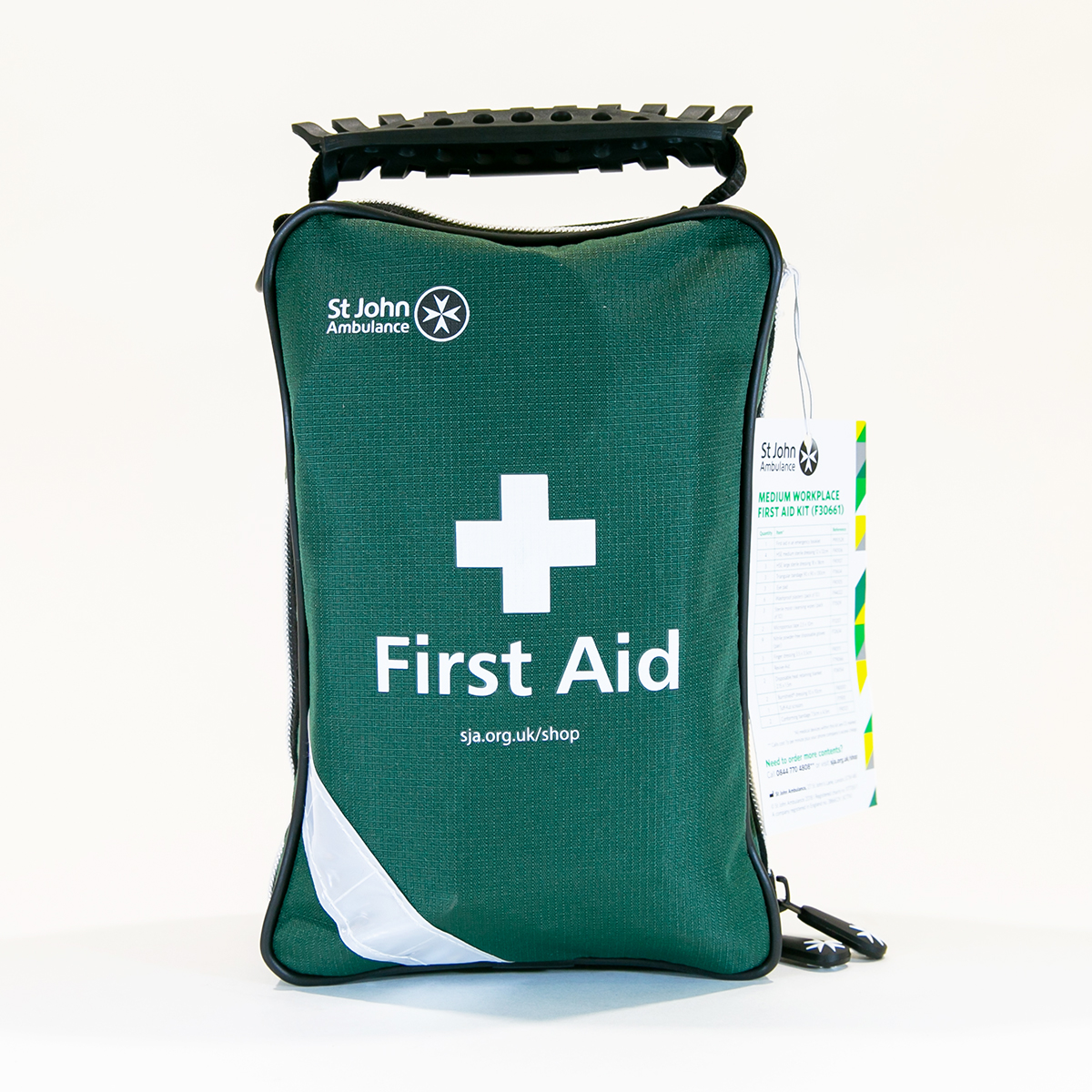 St John Ambulance Medium Zenith Workplace First Aid Kit BS 8599-1:2019