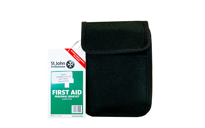 St John Ambulance Personal Issue Kit BS 8599-1:2019