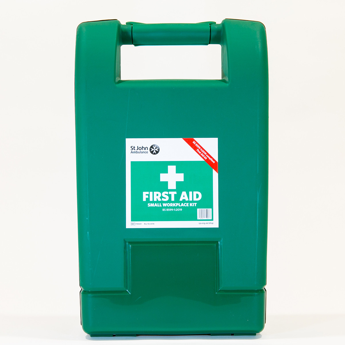 St John Ambulance Small Alpha Workplace First Aid Kit BS 8599-1:2019