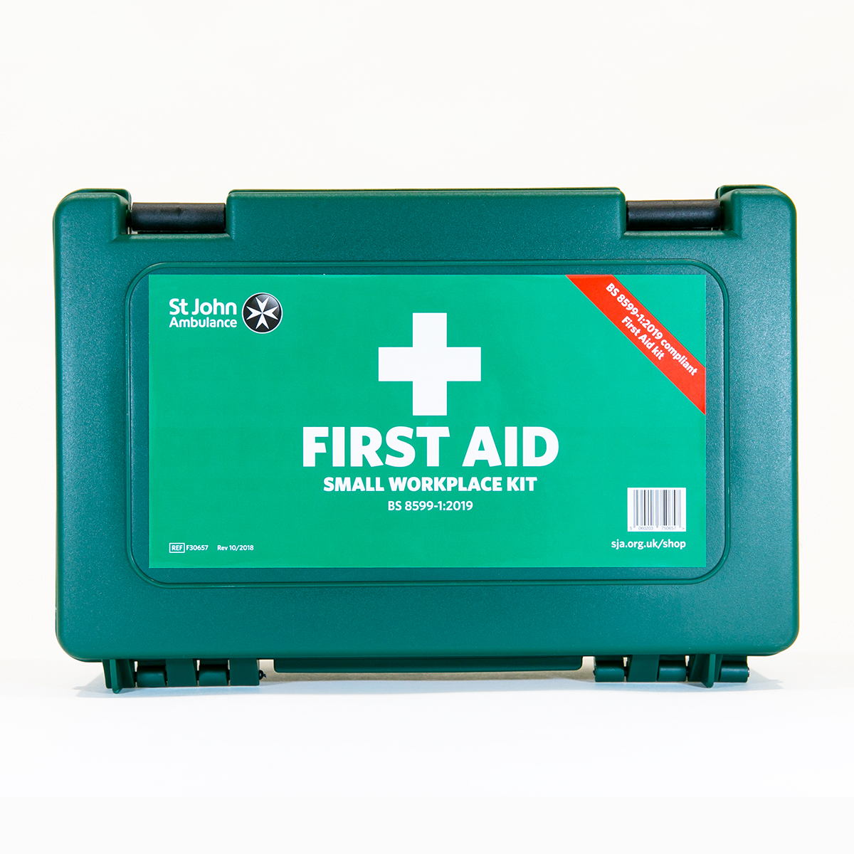 St John Ambulance Small Standard Workplace First Aid Kit BS 8599-1:2019