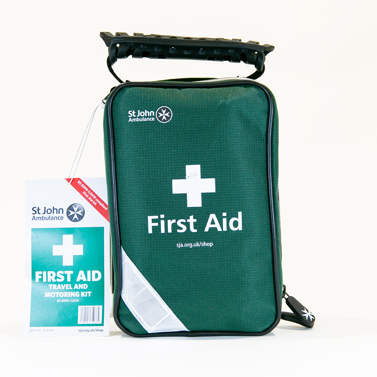 St John Ambulance Zenith Travel and Motoring Workplace First Aid Kit BS 8599-1:2019