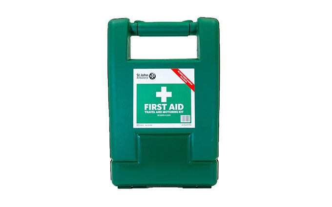 St John Ambulance Alpha Travel and Motoring Workplace First Aid Kit BS 8599-1:2019 St John Ambulance Alpha Travel and Motoring Workplace First Aid Kit BS 8599-1:2019