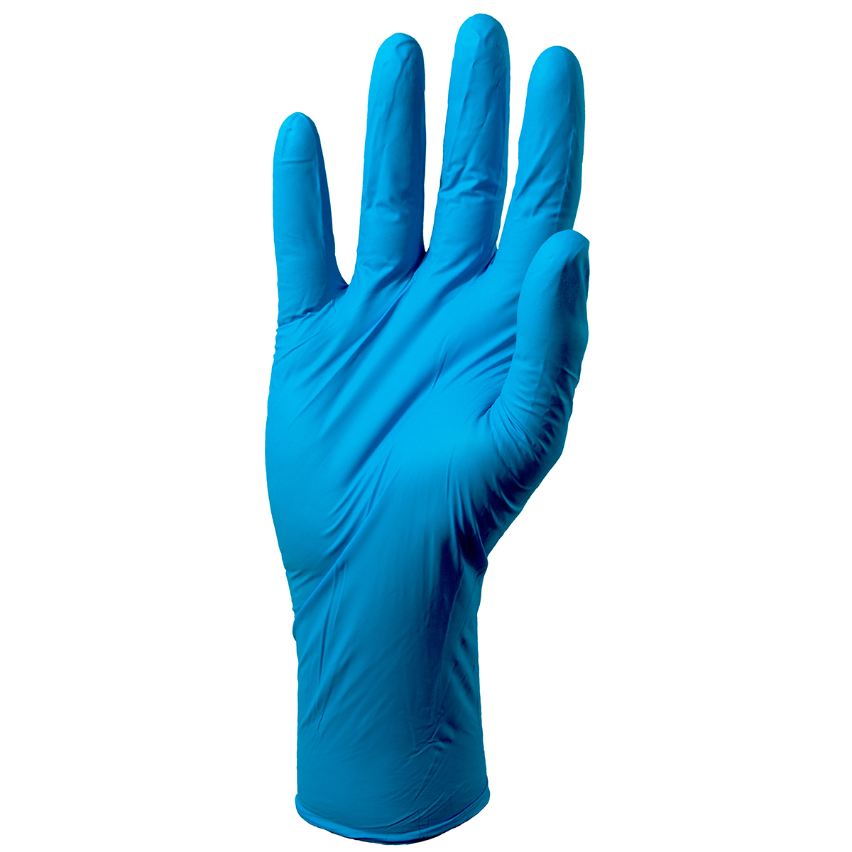 Pack of 100 Medium Extra Long Cuff Nitrile Gloves