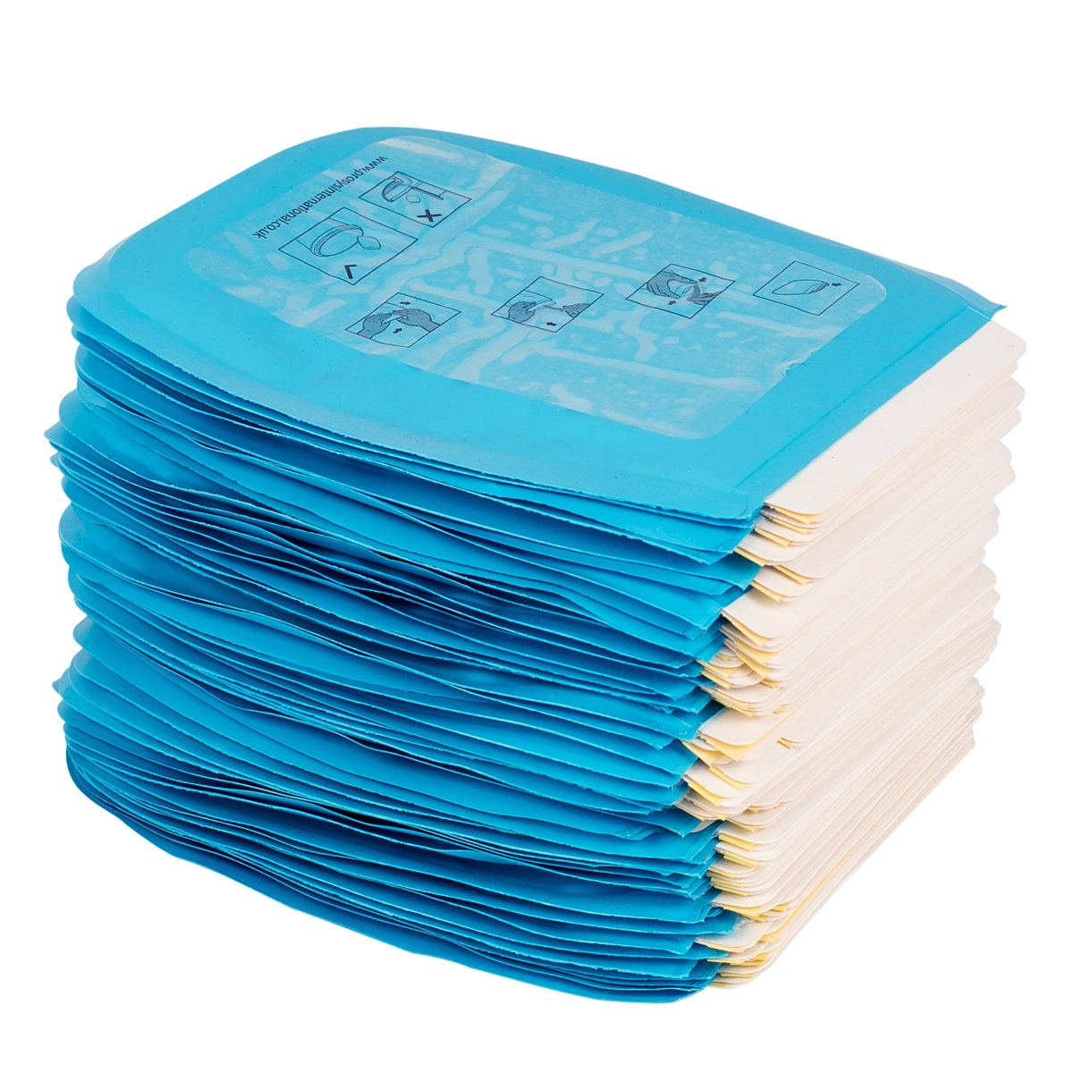 Pack of 50 AbsorbeZe Traveleze Pouches