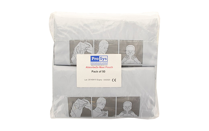 Pack of 50 AbsorbeZe Maxi Fluid Waste Bags Pack of 50 AbsorbeZe Maxi Fluid Waste Bags