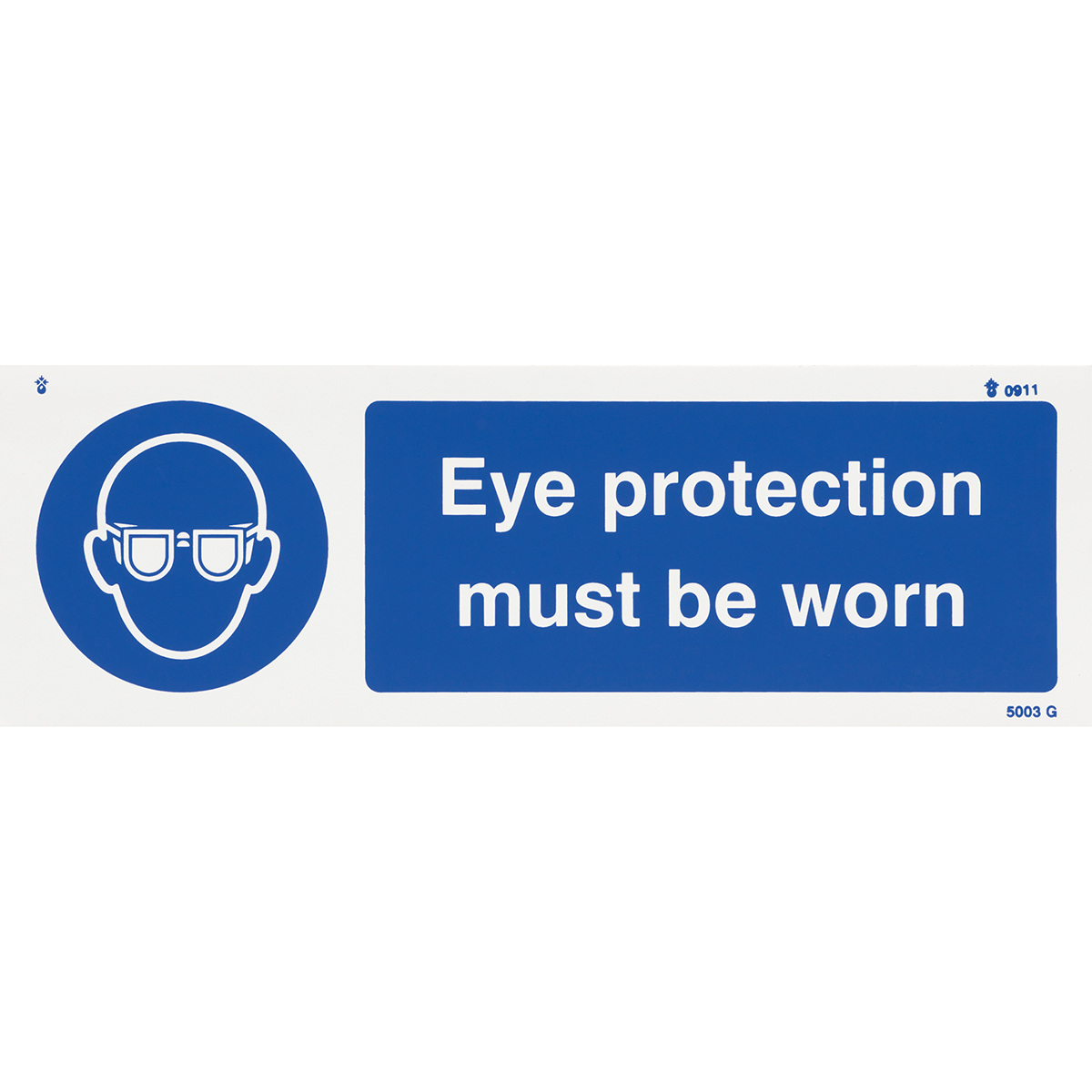 Eye Protection Safety Sign