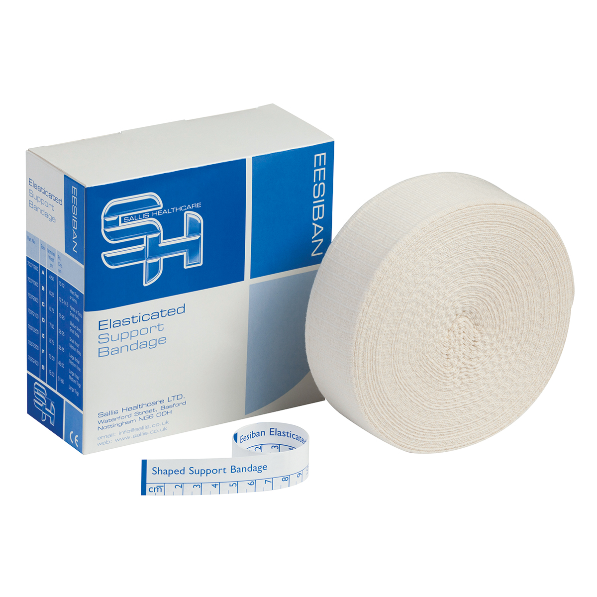 10m Size D Elasticated Stockinette Tubular Bandage