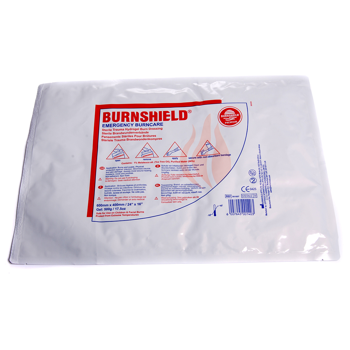 60cm x 40cm Single Burnshield® Dressing