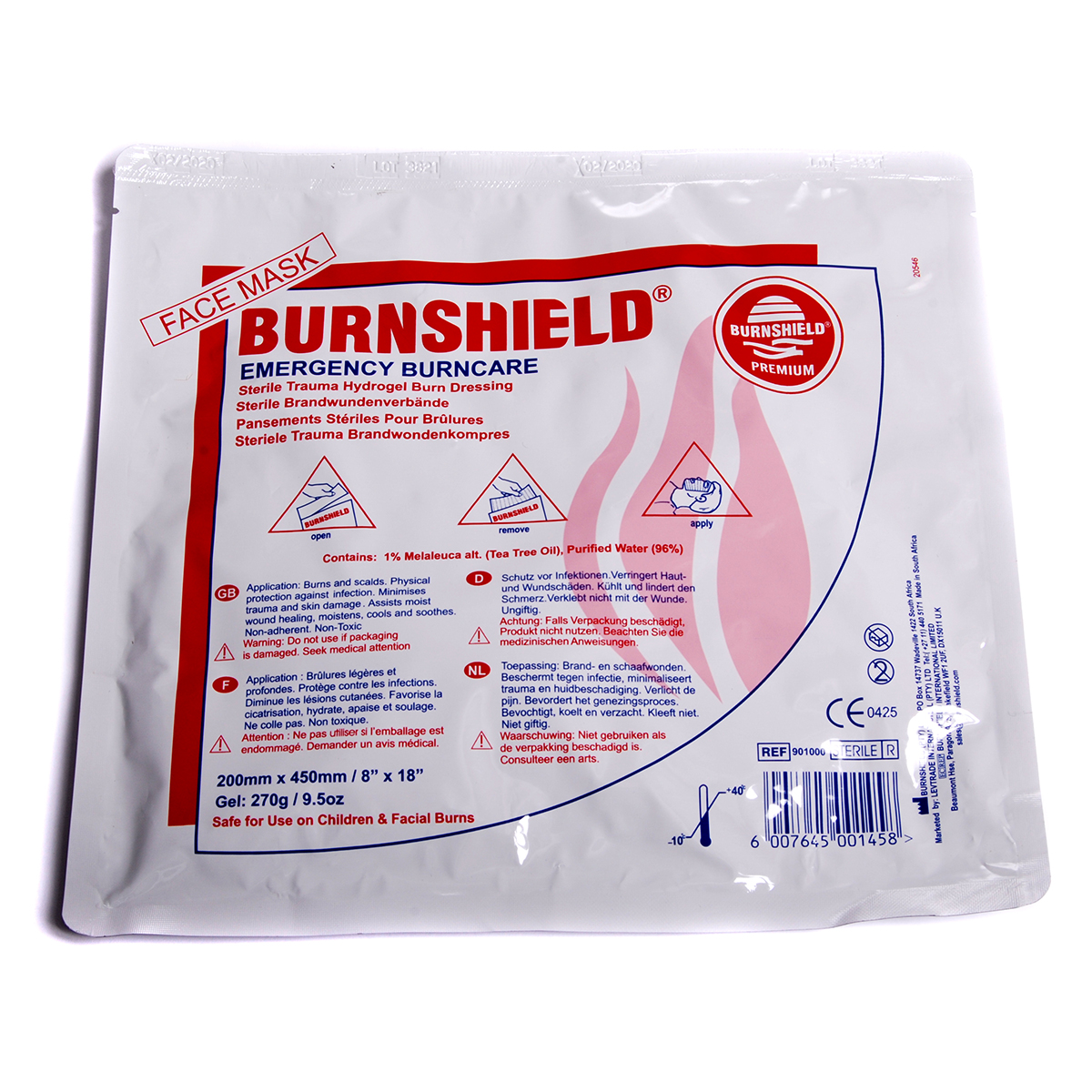 Burnshield® Face Mask