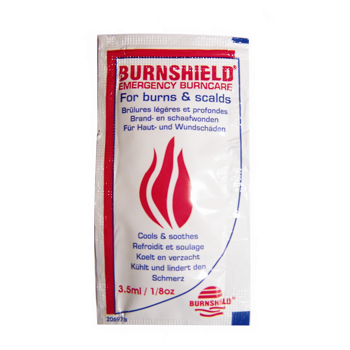 Pack of 3 3.5ml Burnshield® Blott Sachets
