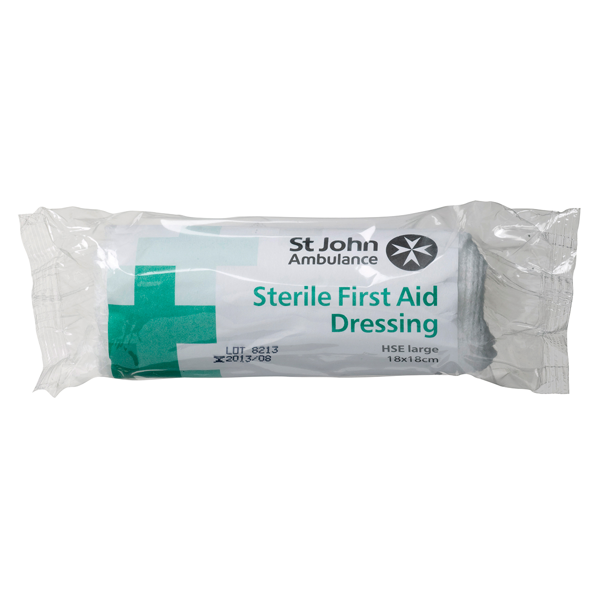 18cm x 18cm Large St John Ambulance HSE First Aid Dressing
