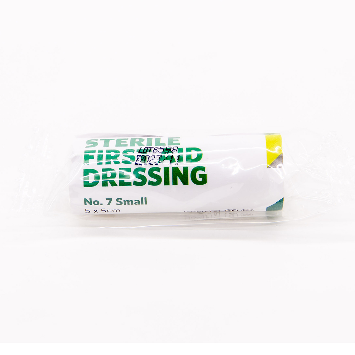5cm x 5cm Small St John Ambulance No.7 First Aid Dressing