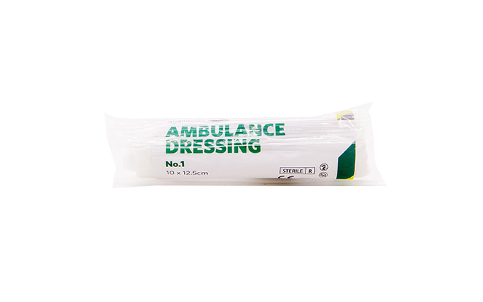 10cm x 12.5cm St John Ambulance No.1 Ambulance First Aid Dressing