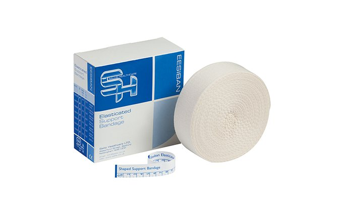 6.25cm x 10m Size B Elasticated Support Bandage 6.25cm x 10m Size B Elasticated Support Bandage