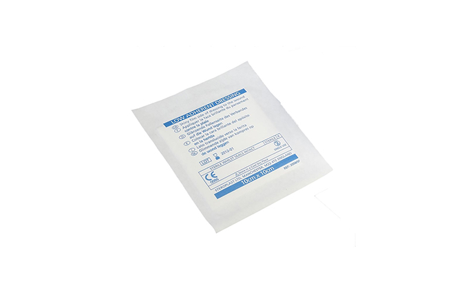 10cm x 10cm Low Adherent Absorbent Dressing Pad 10cm x 10cm Low Adherent Absorbent Dressing Pad