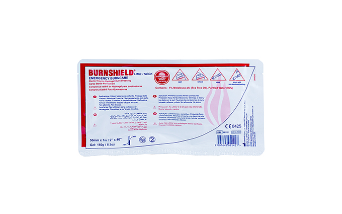 5cm x 100cm Burnshield® Limb/Neck Strip Dressing 5cm x 100cm Burnshield® Limb/Neck Strip Dressing