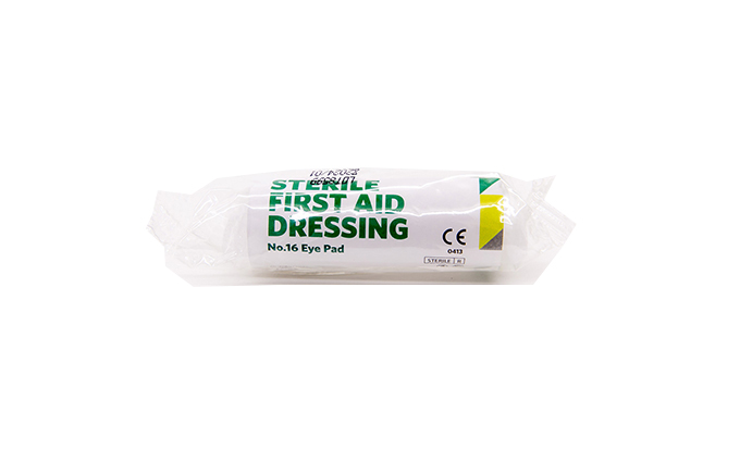 No. 16 St John Ambulance Eye Pad Dressing No. 16 St John Ambulance Eye Pad Dressing