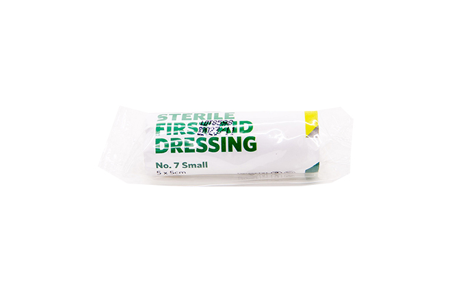 5cm x 5cm Small No.7 St John Ambulance First Aid Dressing 5cm x 5cm Small No.7 St John Ambulance First Aid Dressing