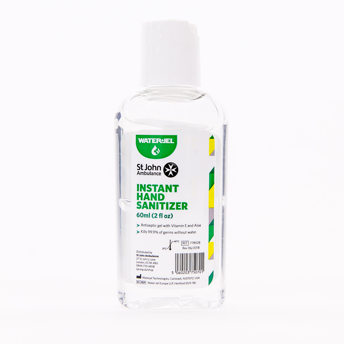 60ml St John Ambulance Hand Sanitizer