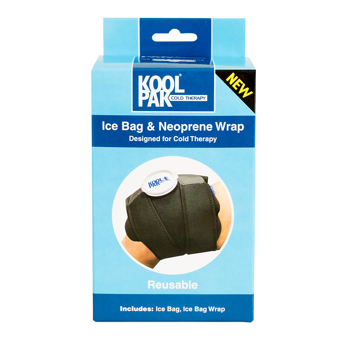 Koolpak® Ice Bag and Neoprene Wrap
