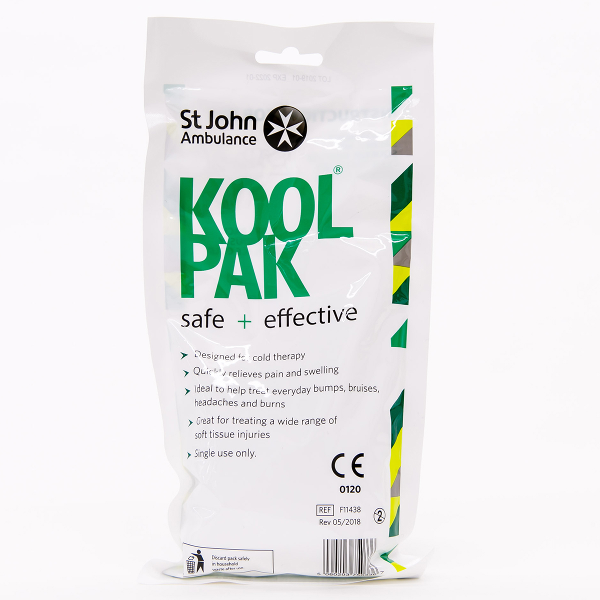 Koolpak® and St John Ambulance Instant Ice Pack