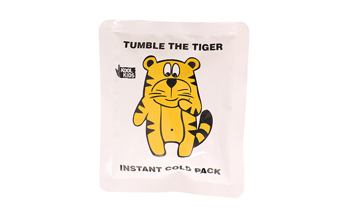 Koolpak® Tumble the Tiger Instant Ice Pack Koolpak® Tumble the Tiger Instant Ice Pack