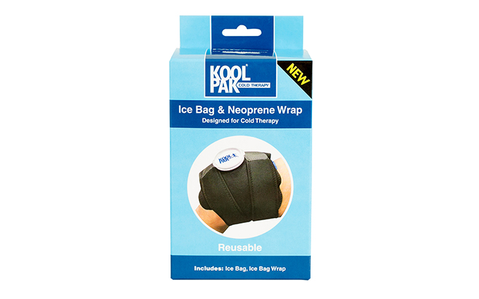 Koolpak® Ice Bag and Neoprene Wrap Koolpak® Ice Bag and Neoprene Wrap