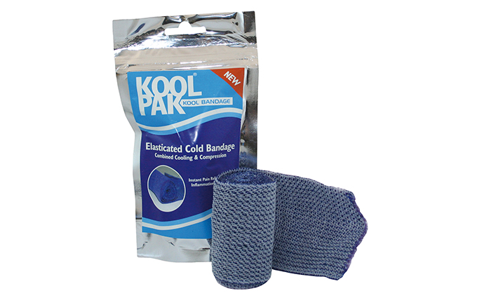7.5cm x 4.5m Koolpak® Elasticated Cold Bandage 7.5cm x 4.5m Koolpak® Elasticated Cold Bandage