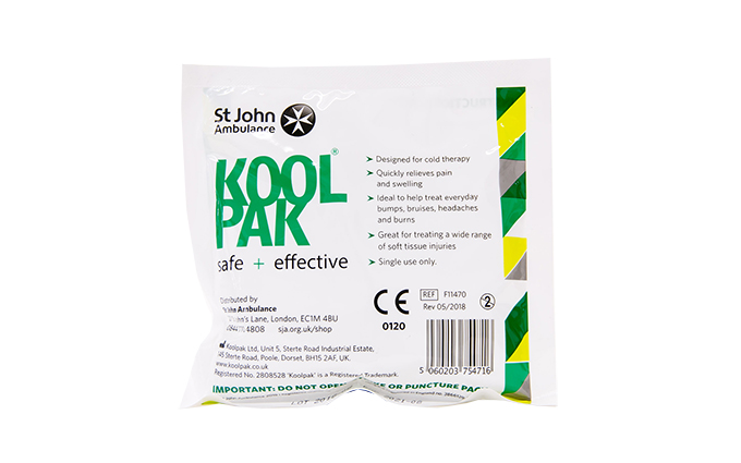 Koolpak® and St John Ambulance Mini Instant Ice Pack Koolpak® and St John Ambulance Mini Instant Ice Pack