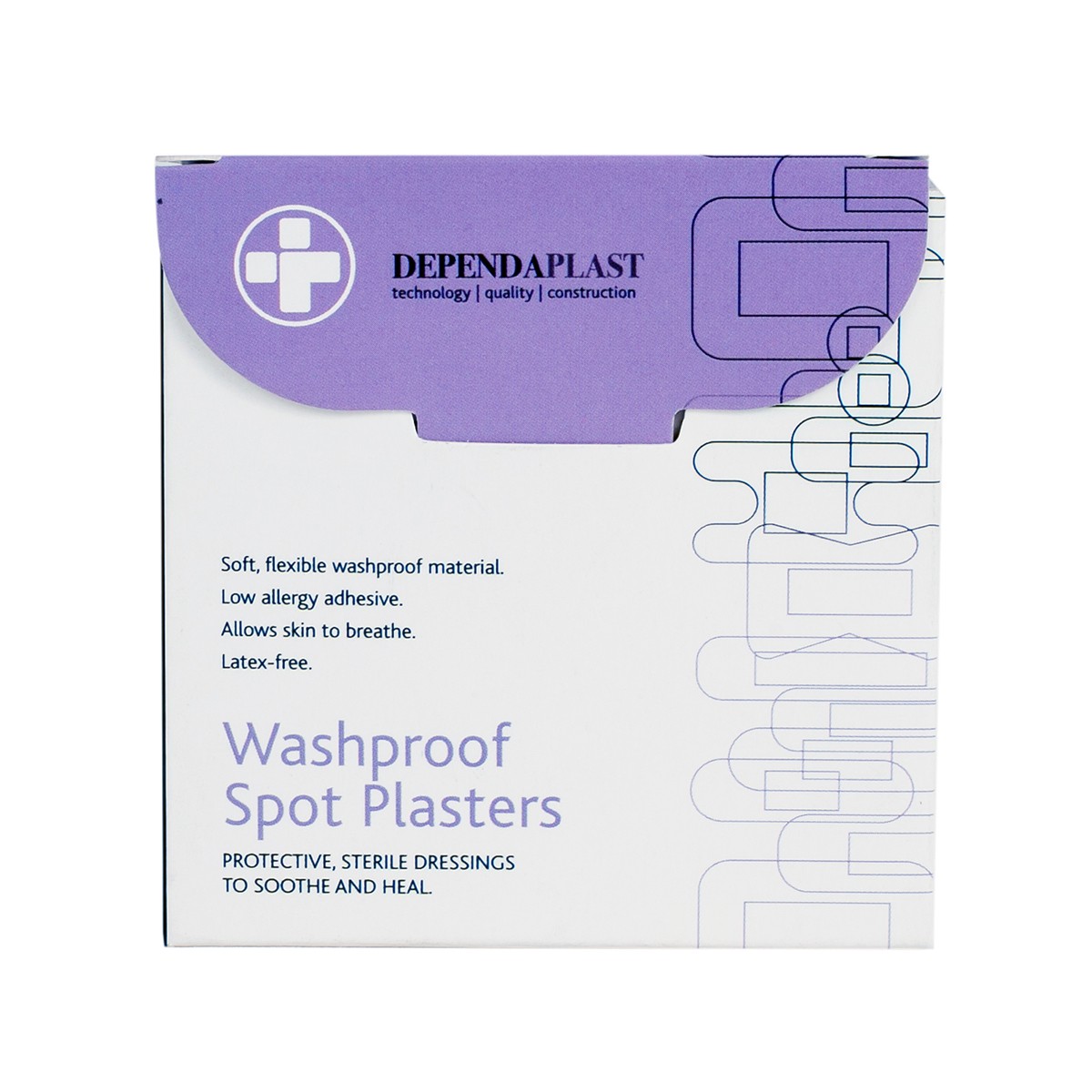 Pack of 100 Spot Plasters