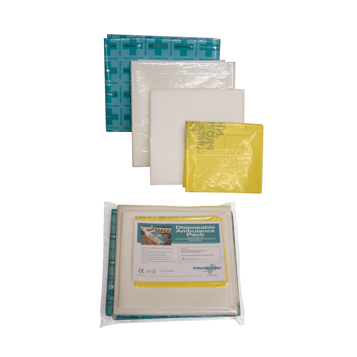 Mediwrap® Disposable Ambulance Bedding Pack