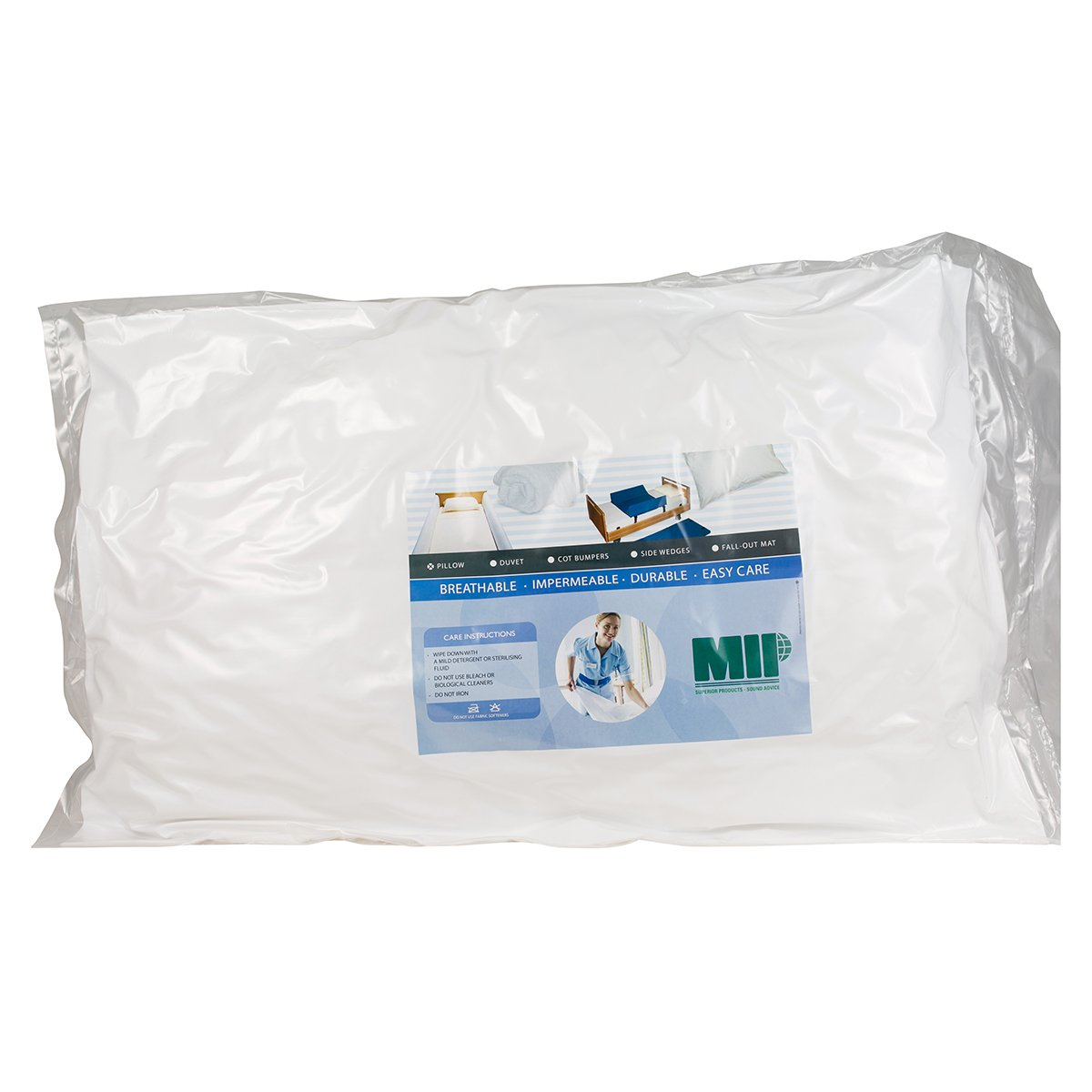 Deluxe Wipe-Clean Pillow
