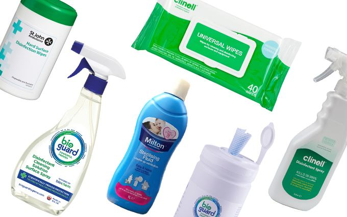 Disinfectants and surface wipes
